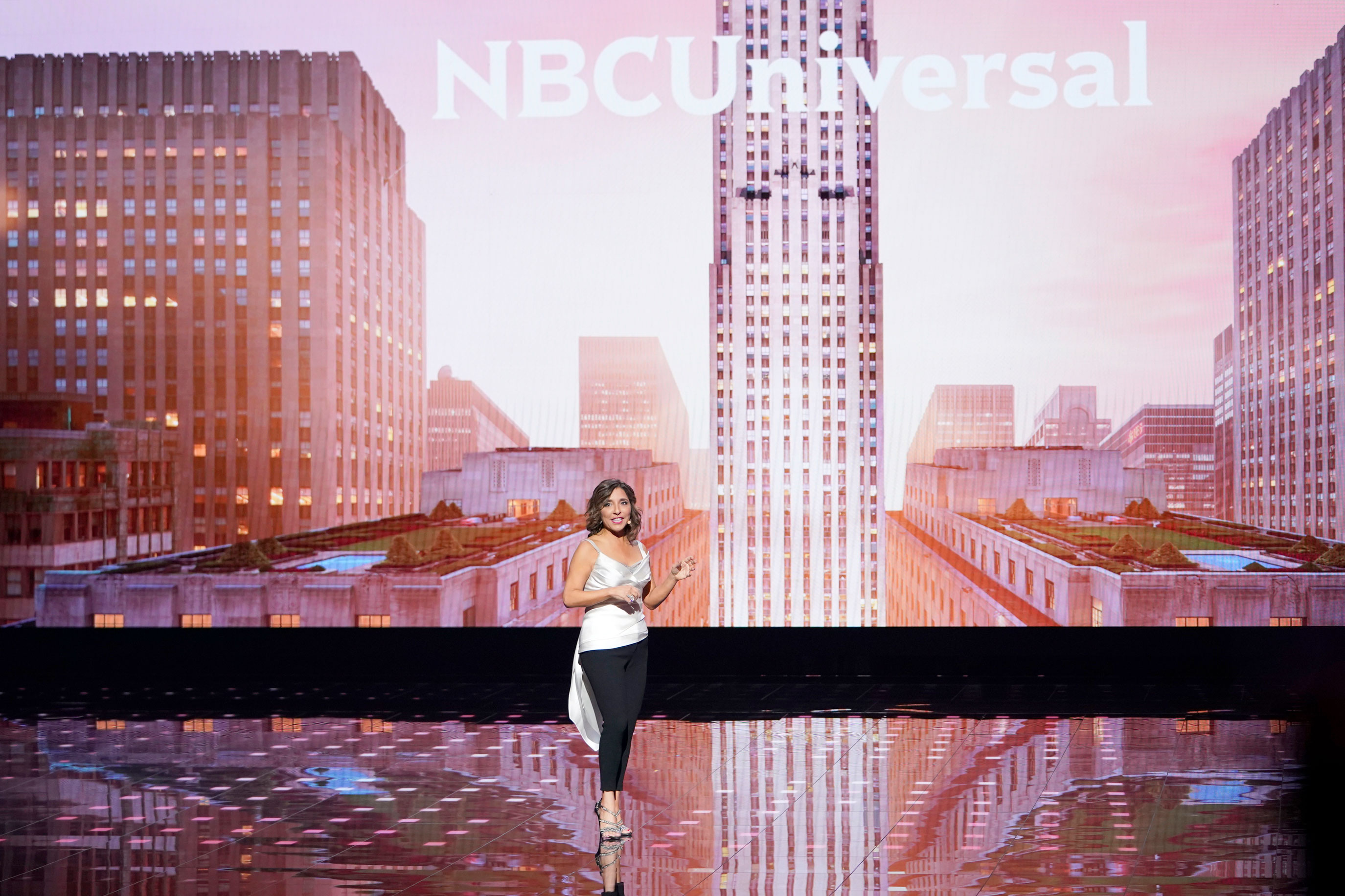 NBC's upfront teeters between streaming future and broadcast past