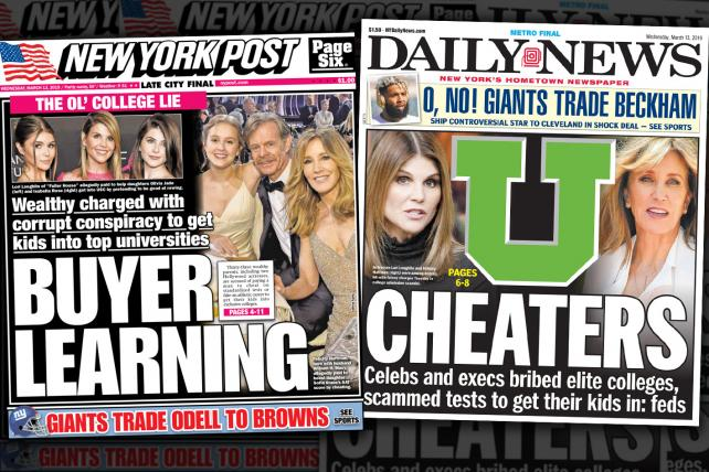The college admissions scandal is a tabloid-news dream