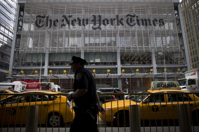 New York Times to Fire 21 Union Employees Starting Today, Union Says