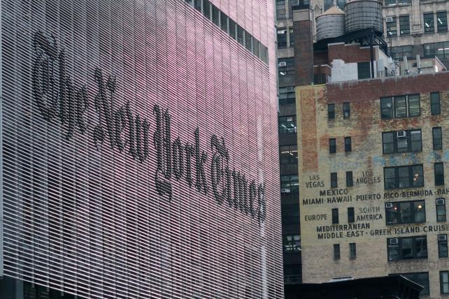 New York Times poised to invest in artificial intelligence