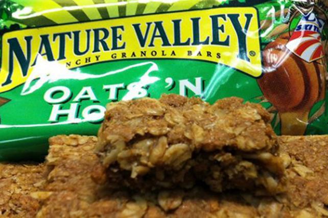 Nature Valley Drops 100% Natural Claim