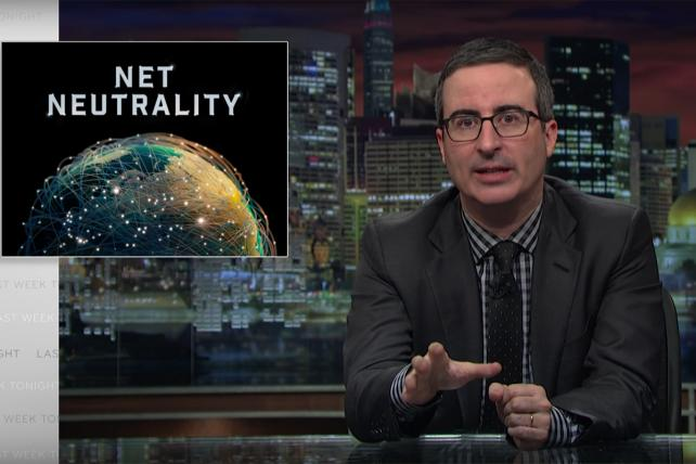 'Go FCC Yourself' 2: Watch John Oliver Update His Net Neutrality Rant