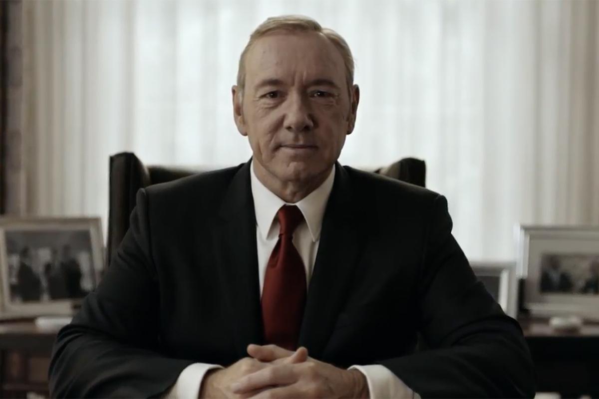 Netflix: Frank Underwood FU2016 'House of Cards'