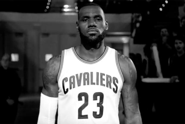 size 40 691c4 661f2 LeBron James Narrates an Inspirational Nike Ad as Cavaliers Defend Their  Title   AdAge