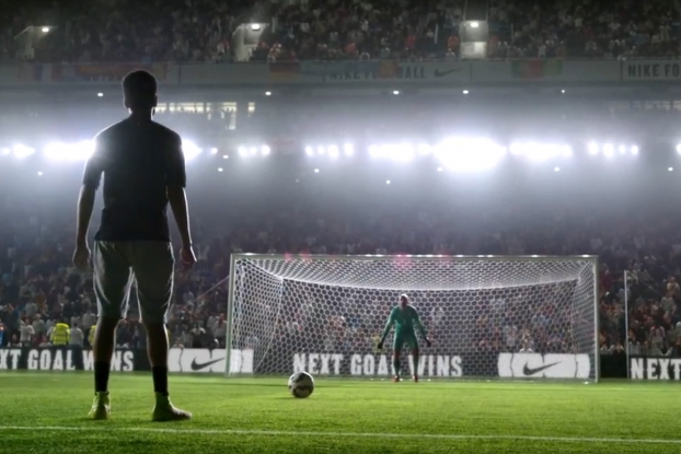 quite nice 14452 5b0fc Football Pros and Other Celebs Play in Nike s Spectacular World Cup Pick-Up  Game   AdAge