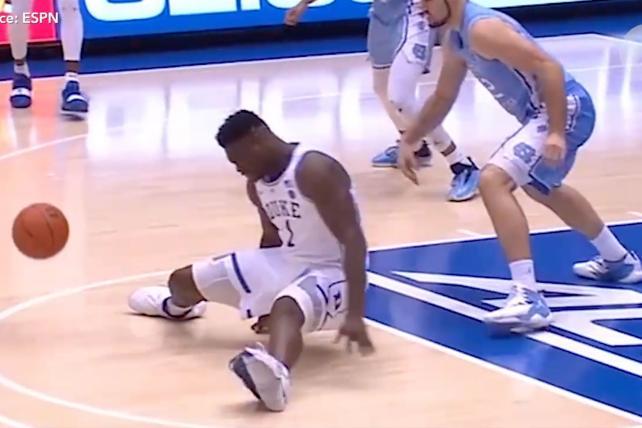 Nike hunts for answers after Duke basketball star's shoe splits