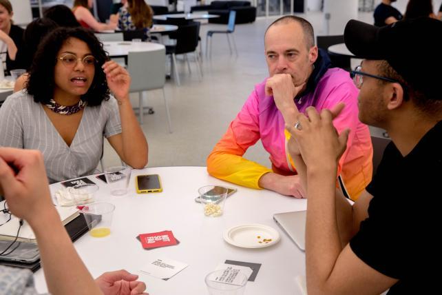 R/GA team creates card game, Not So FAQ, to build diversity