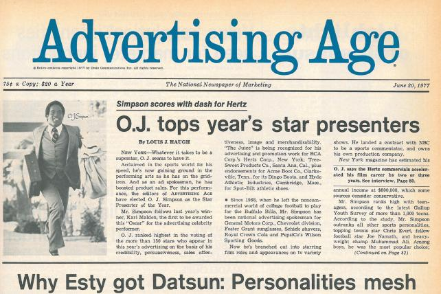 The Run of His Life: How Hertz and O.J. Simpson Changed Advertising