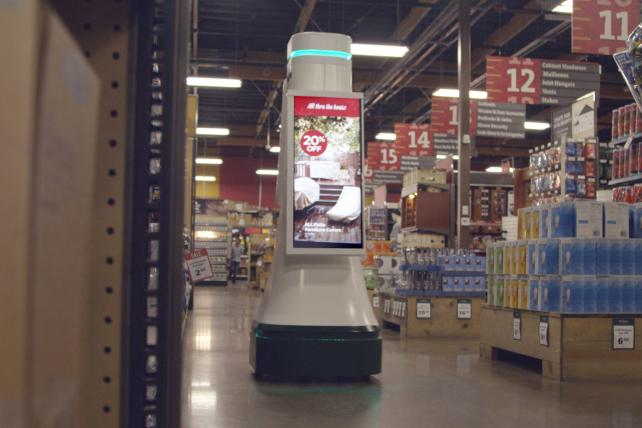 Meet Lowe's Newest Sales Associate -- OSHbot, the Robot