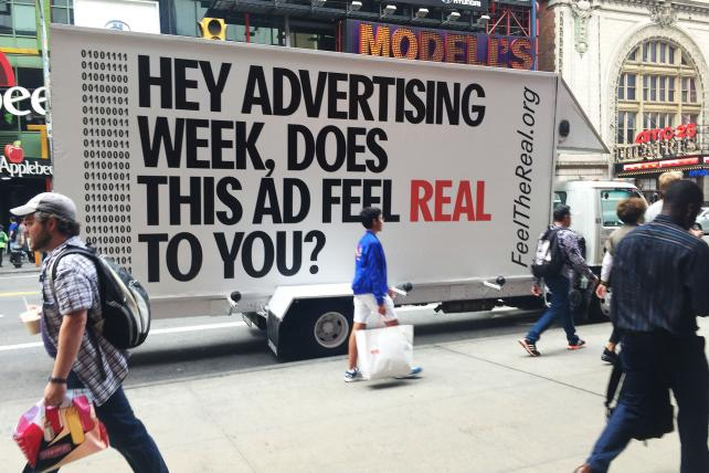 OAAA Shares Real Data for Its 'Feel The Real' Campaign