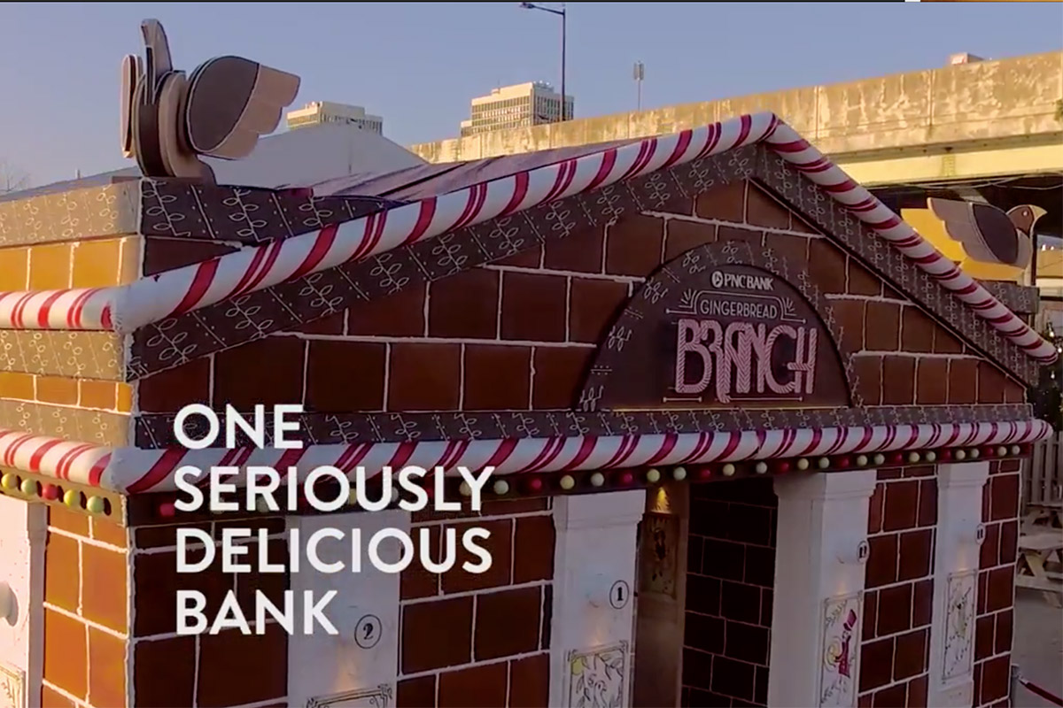 Life-Size Gingerbread Bank