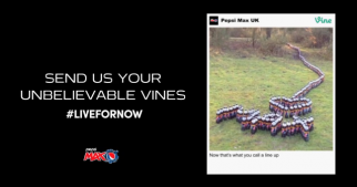 Pepsi Max Puts Vine Videos on U.K. Billboards