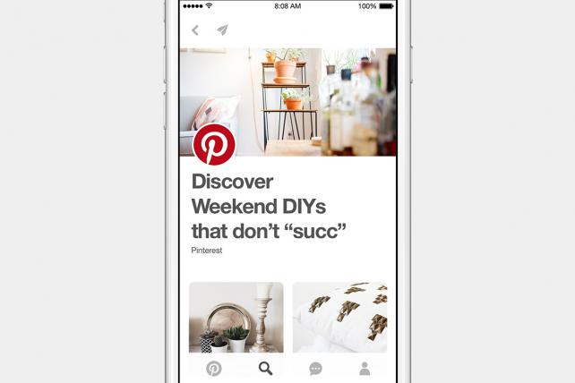 Here's What Pinterest's New Explore Section For Publishers Looks Like
