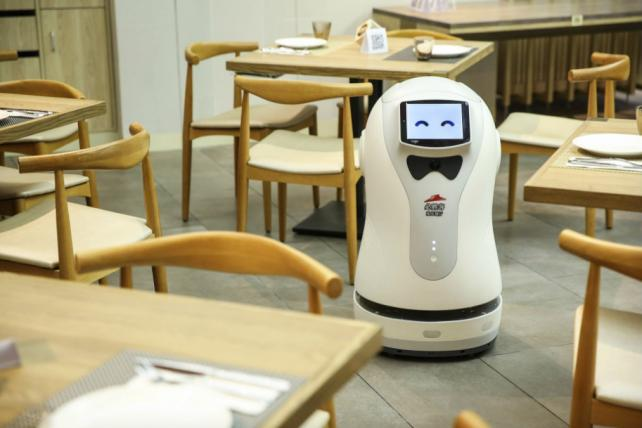 Pizza Hut's New Concept Restaurant in Shanghai Has Robots on Staff