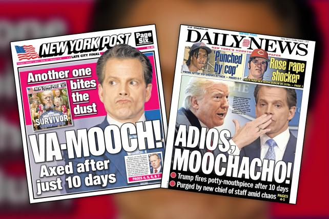 Mooch-be-gone: Tabloids Tackle the Latest Fiasco