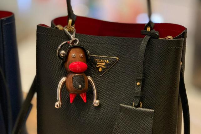 Prada will stop selling keychains decried as racist