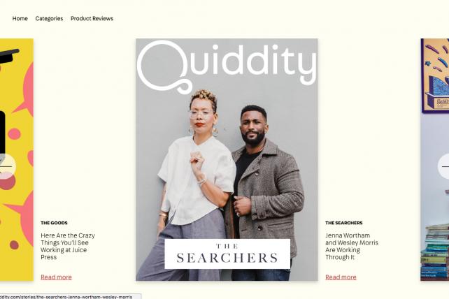 Millennial shoppers: meet Quiddity