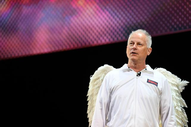 Upfronts Diary: Kenny Mayne Sprouts Wings in ESPN Pitch