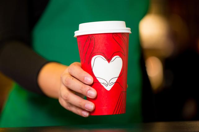 Starbucks Adds Another Hand-y Cup to its 2017 Holiday Lineup