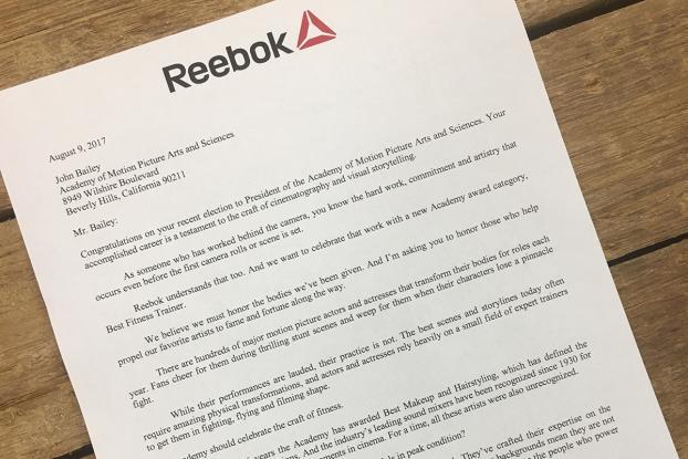 Reebok Makes Bid to Add a  Fitness  Oscar to the Academy Awards  3691ec9d2