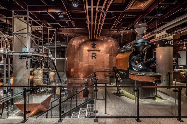 Starbucks opens first East Coast roastery