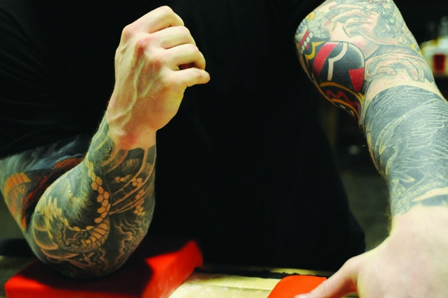 How Butchering, Arm-Wrestling Skills Come In Handy on Mad Ave