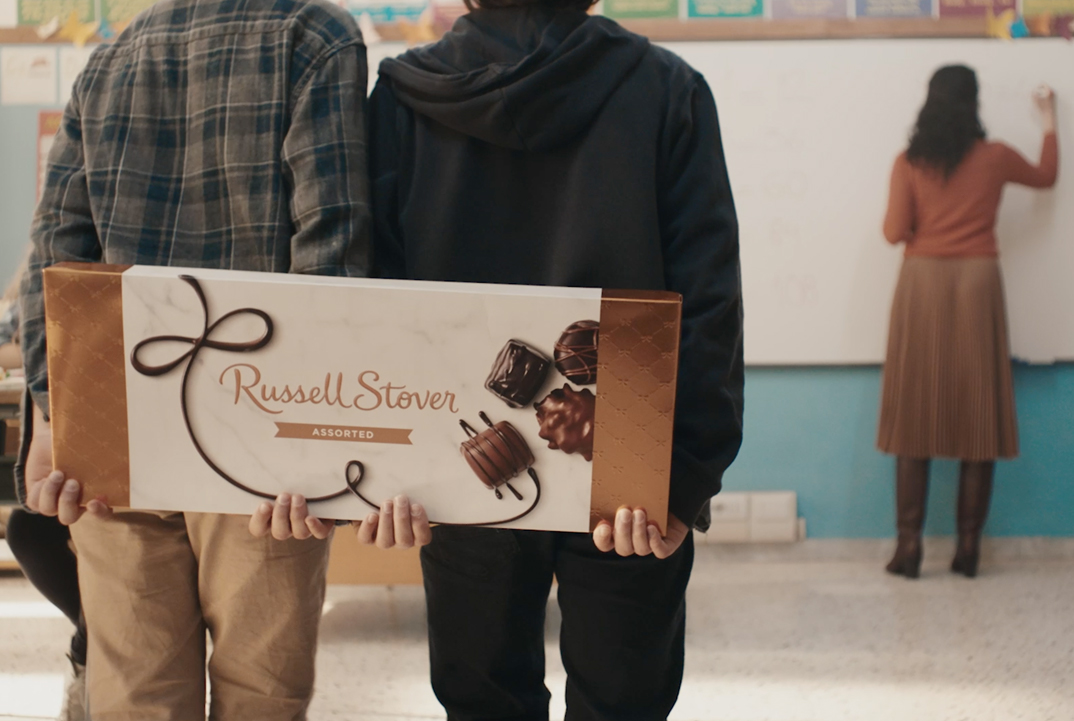 Russell Stover: Make Happy.