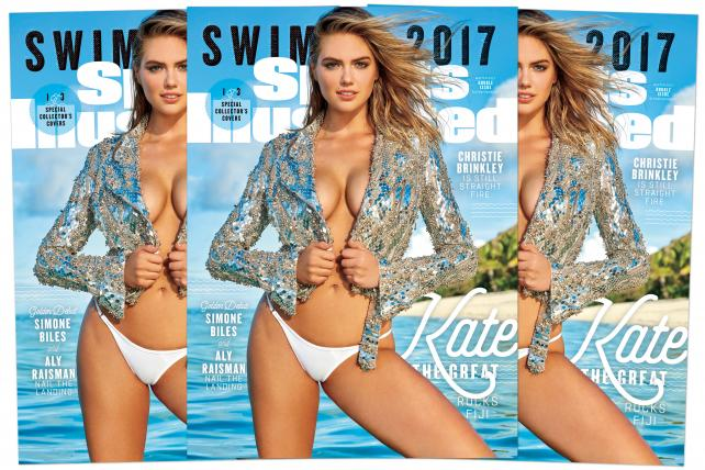 See the (Three) Covers: Kate Upton is the 2017 Sports Illustrated Swimsuit Issue Cover Model