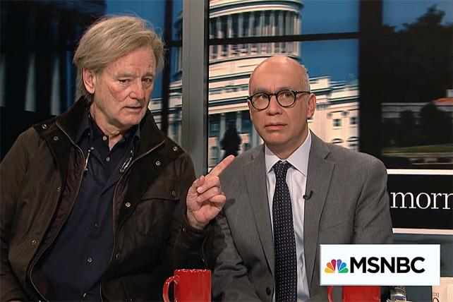Bill Murray Is Steve Bannon on 'SNL'
