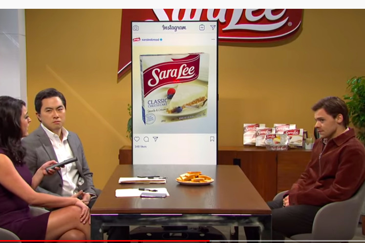 Sara Lee goes viral after SNL skit and Martin Sorrell denies a slap: Monday Wake-Up Call