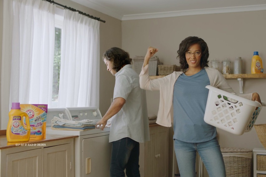 Arm & Hammer: every wash counts.