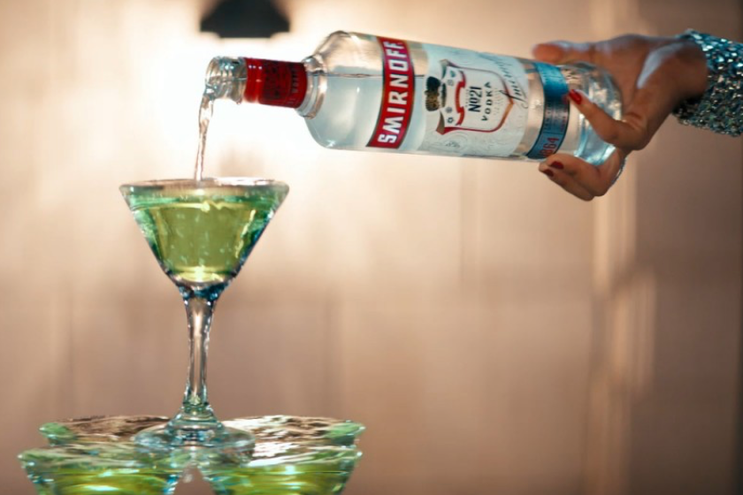 Smirnoff: Not so silent night