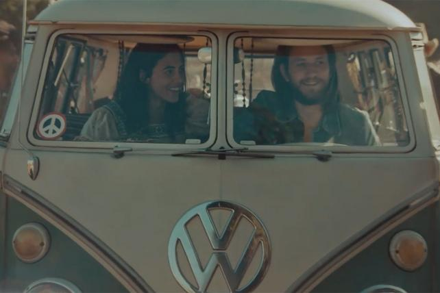 VW's Latest Move: A Hippie-Dippy Ad Without a New Car in Sight