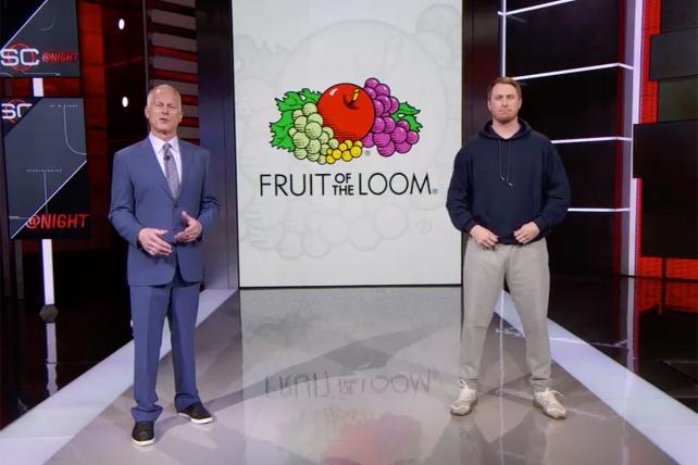 Deja Voodoo: ESPN Goes Old-School with a 'Live' Commercial in 'SportsCenter'