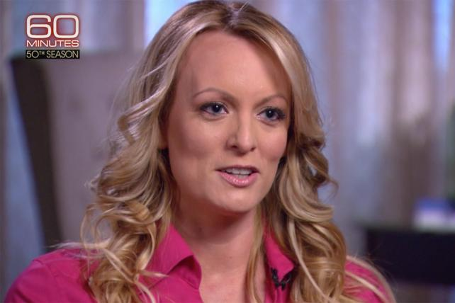 '60 Minutes' spanks its lucky stars for Stormy Daniels