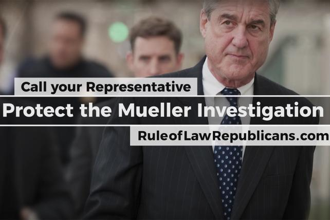 Watch the Pro-Mueller ad from Republicans