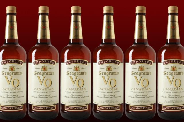 Diageo sells Seagram's VO to Sazerac in $550 million deal