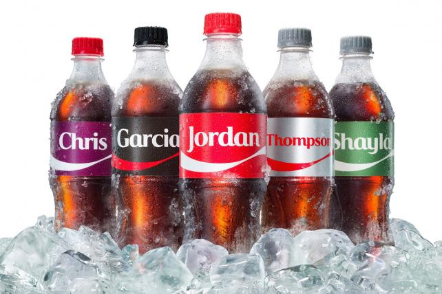 Why Coke Is Adding Last Names to 'Share a Coke'