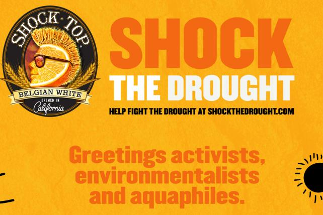 Shock Top Beer Pours Out Water-Saving Campaign in California