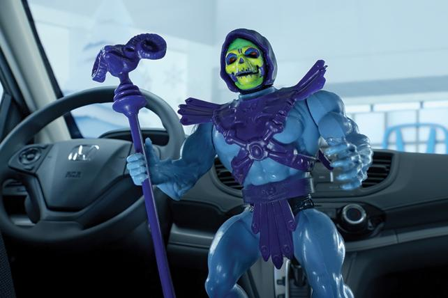 Why He-Man and Skeletor Are Back -- As Car and Insurance Salesmen
