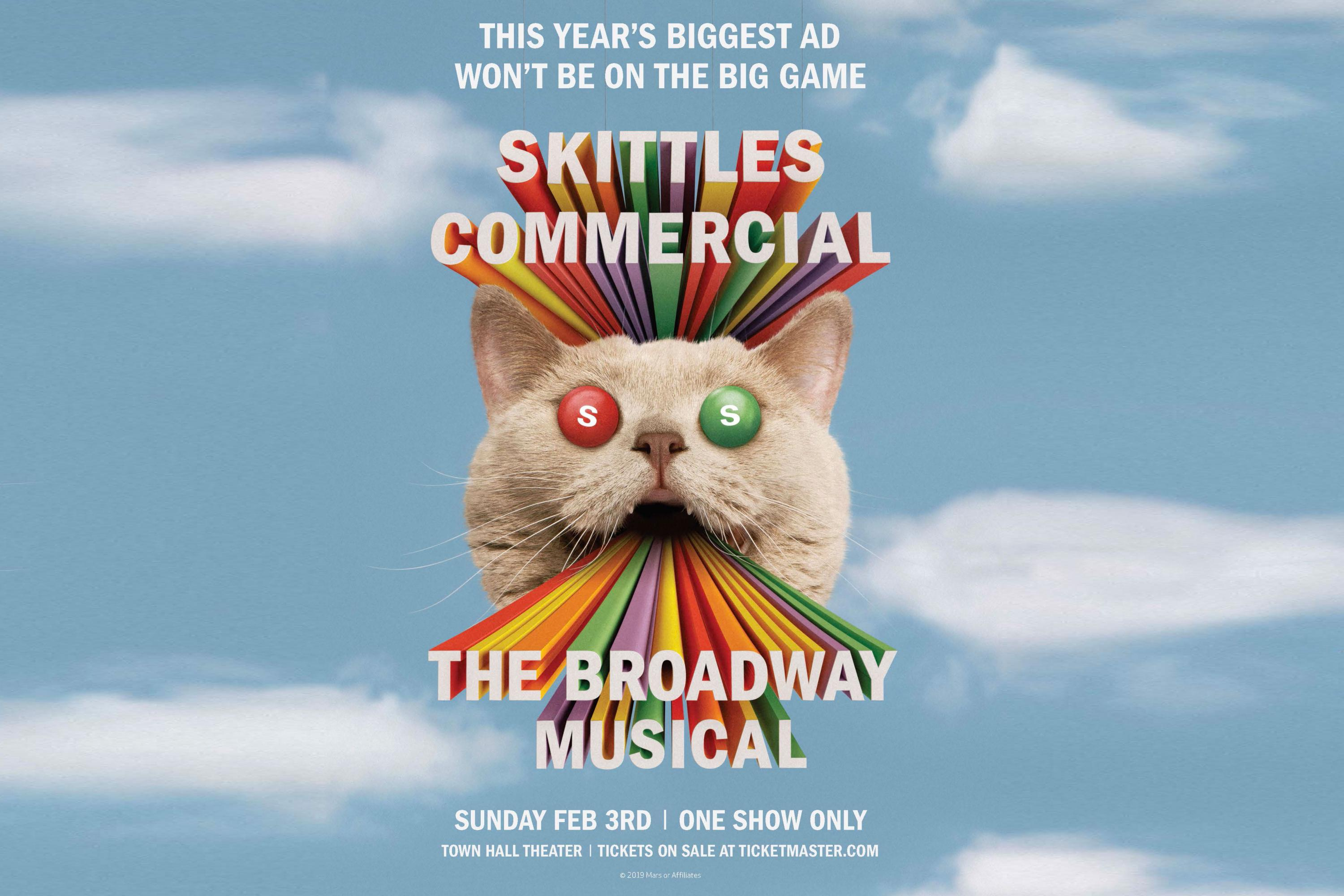 Skittles is planning another non-game stunt for Super Bowl