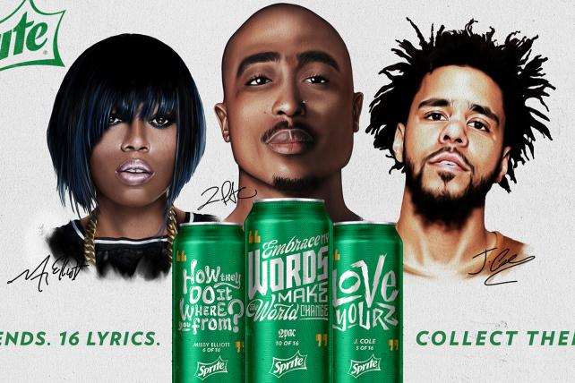 Lowdown: Sprite Evokes Tupac in Lyrical Campaign