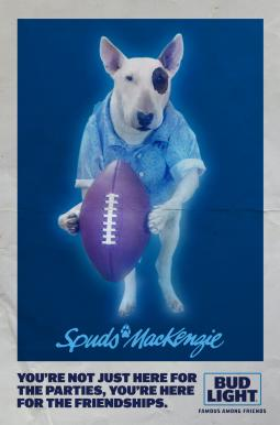 Ghost In Bud Light Super Bowl Ad