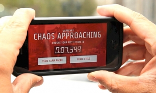 Chaos in Your Town Mobile iAd