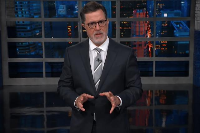 Colbert deconstructs Trump's Puerto Rico death-toll tweets