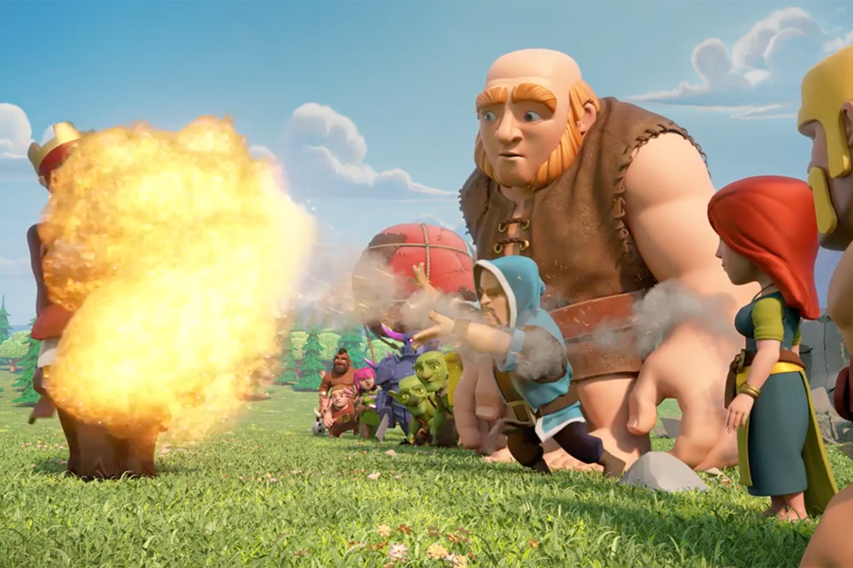 Clash of Clans - The Red King is Ready to Duel