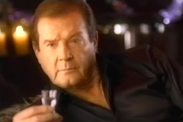 For Marketers' Eyes Only: Roger Moore's Life in Ads