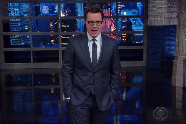 Colbert on Why You're Not Supposed to Call TrumpCare TrumpCare