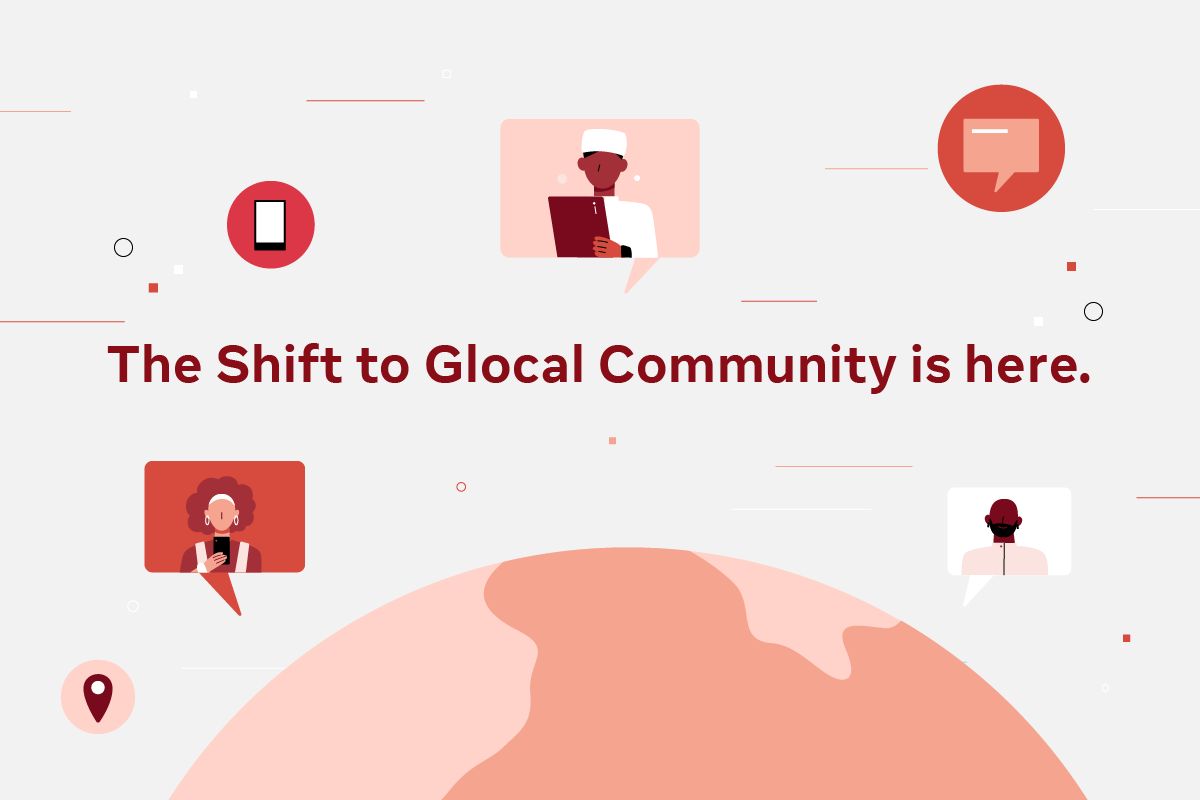 The 'glocal' community: How brands can build strong connections online