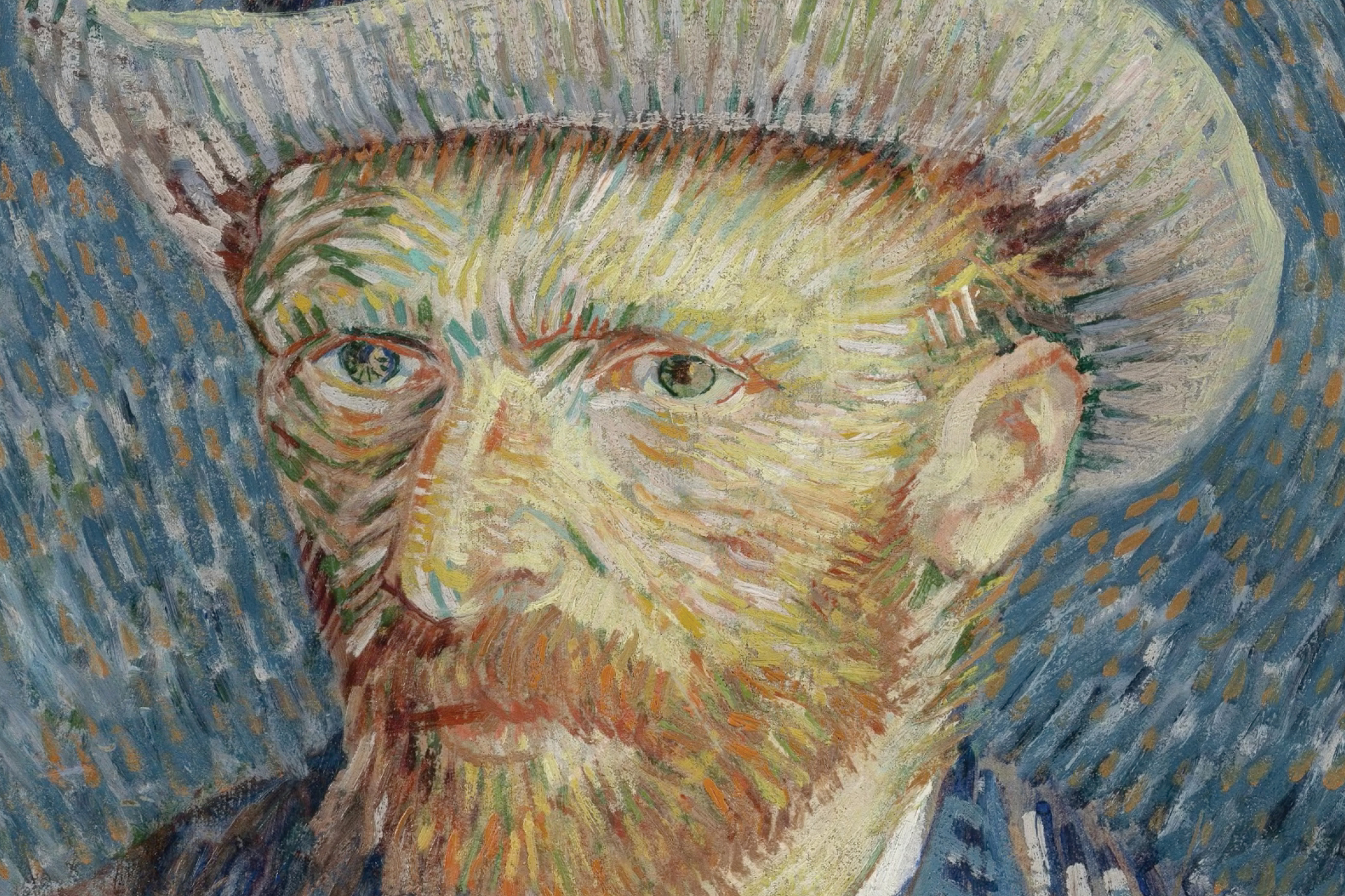 van Gogh Museum: in and under the paint